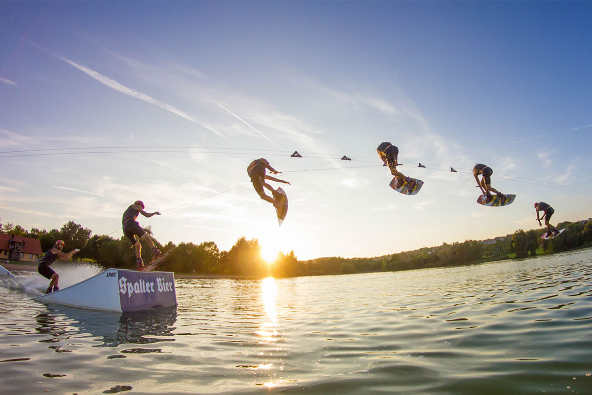 Brombachsee Wakeboard